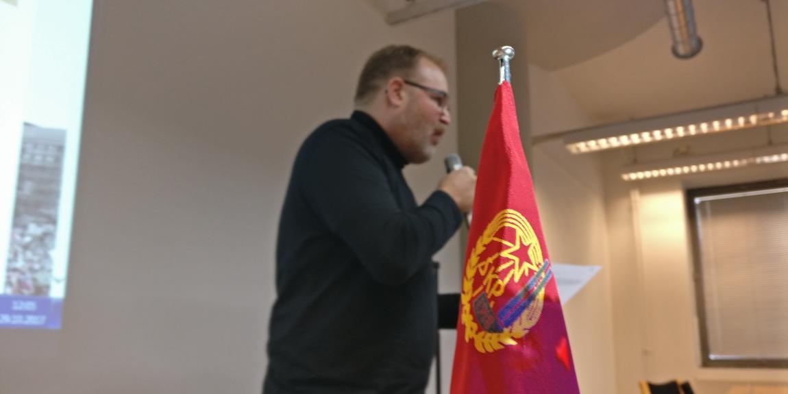 JP Väisänen kommunismi Suomen kommunistinen puolue Tiedonantaja kulttuurimarxismi