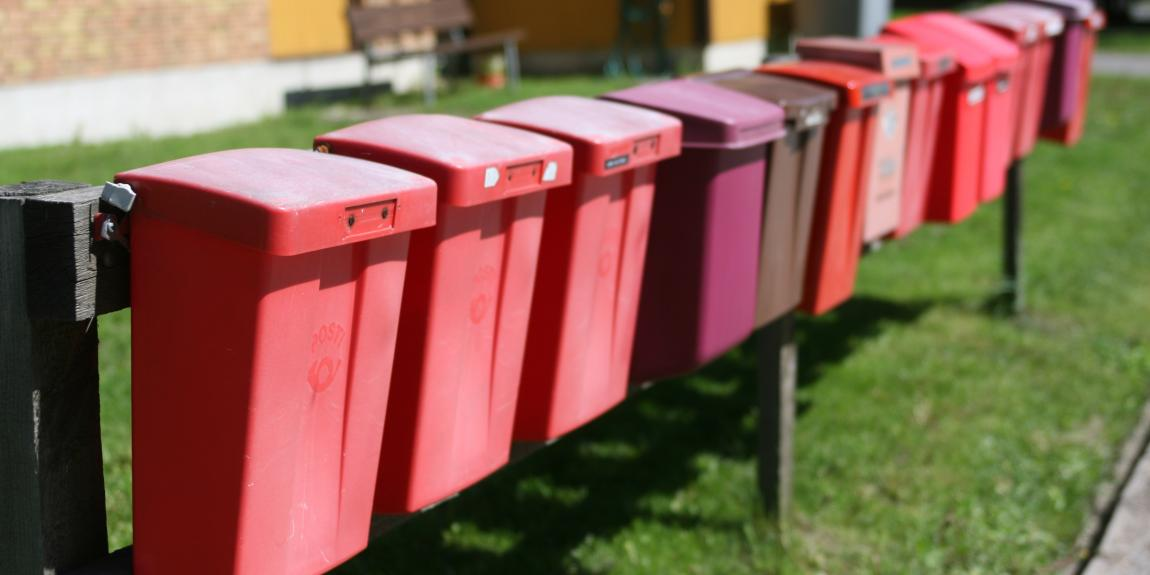 Postilaatikoita