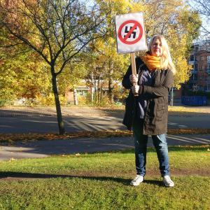 Kommunismi kommunisti sanoo ei natseille