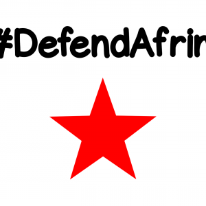 Defend Afrin solidarity kommunistit kommunismi SKP