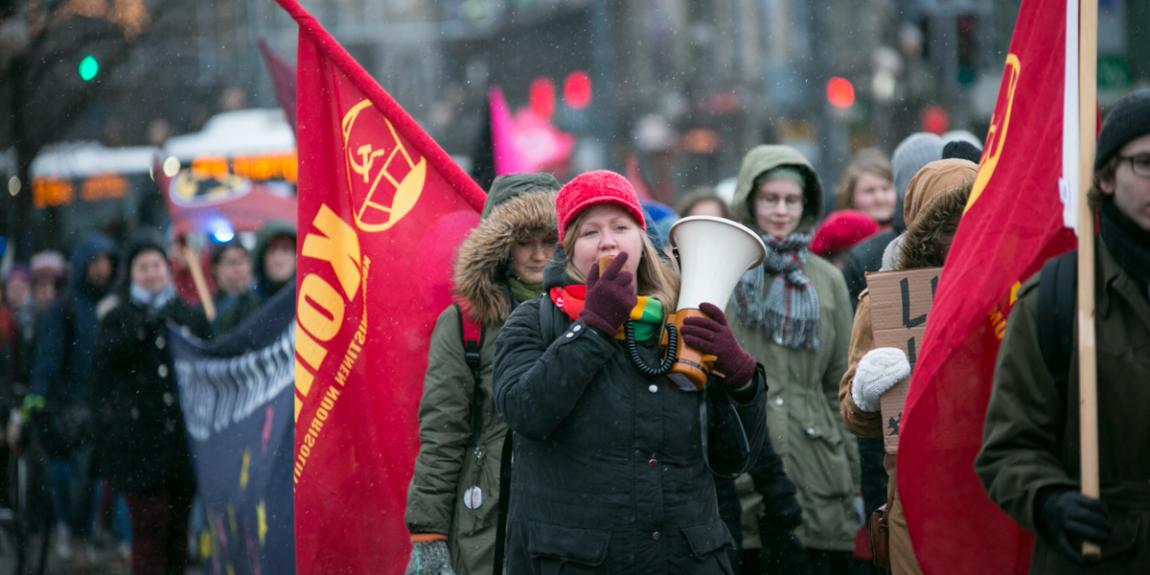 naistenpäivä Petra Packalén tasa-arvo kommunistit kommunismi